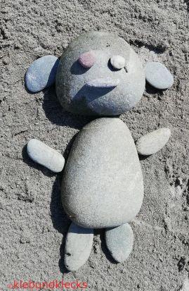 Steinpuzzle Bär