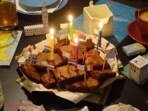 Brownies bei Essen Weltreise