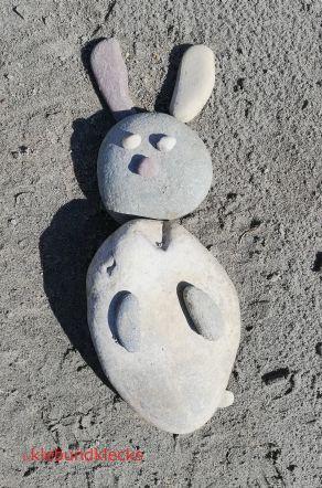 Puzzle aus Steinen