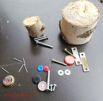 Material für Schraubenmännchen