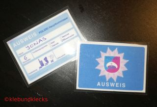 Dekoidee Dienstausweis
