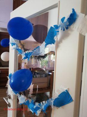 Dekoideen für Girlanden und Luftballons