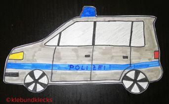 Polizeiauto als Einladung