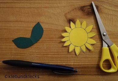 Sonnenblumenhut für Herbstkinder