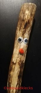 Holzstecken für Holzwichtel