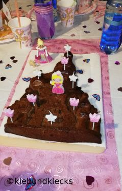 Märchenschloss-Kuchen