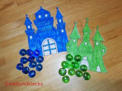 Papierschlösser und Glas-Nuggets