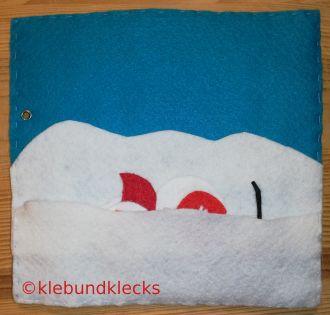 Schneefiguren aus Filz