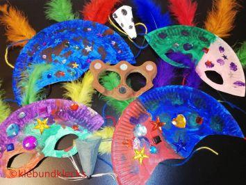 selbstgemachte Masken