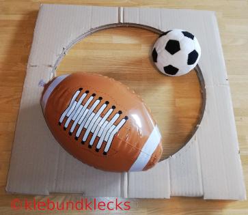 American Football bei Sportarten - Geburtstag