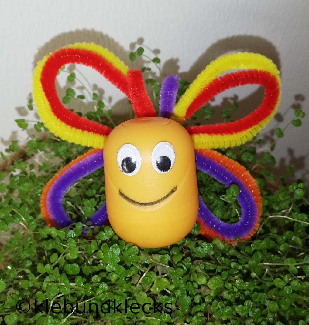 Schmetterling aus Ü-Ei
