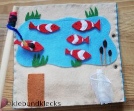 Fische angeln im Quiet Book