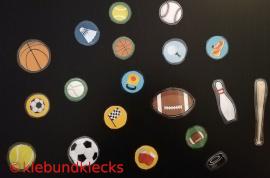 Riesenkonfetti für sportliches Ambiente