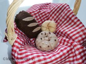 Brot und Gebäck aus Filz