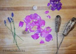 Material für Blumenmädchen