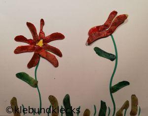Blumen aus Ahornsamen
