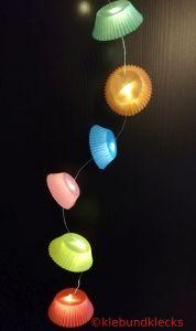 Lichterkette aus Muffinformen