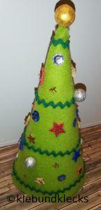 Weihnachtsbaum aus Filz