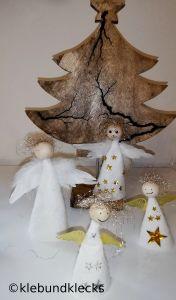 Engelchen aus Filz