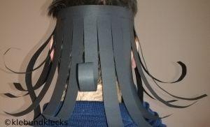 Haare aus Papier