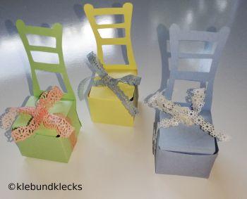 Sessel aus Papier